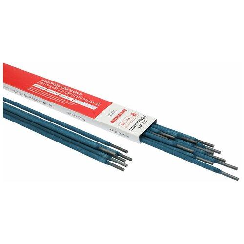 Электроды для сварки REXANT MP-3C 450 мм, диаметр 4 мм (1 кг)