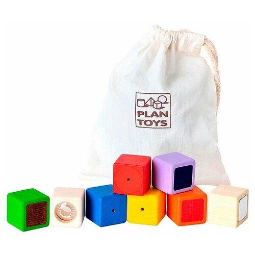 Кубики PlanToys Активные блоки 5531