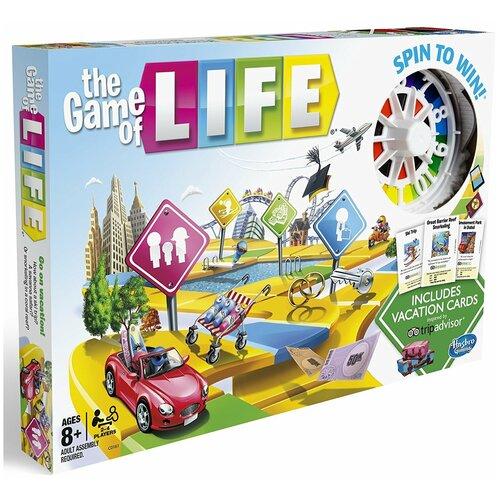 Купить Настольная игра Hasbro Игры Игра в жизнь - Каникулы C0161, Настольные игры