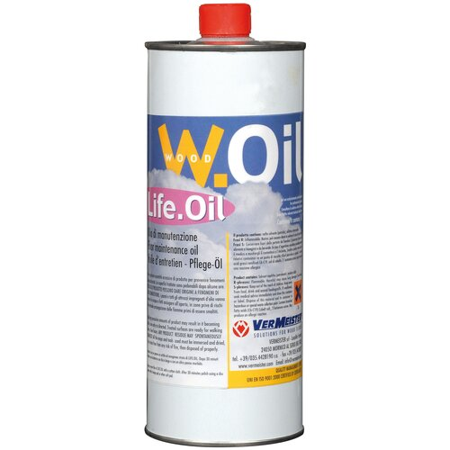 Фото - Масло Vermeister Life.Oil, прозрачный, 1 л масло dr schutz h2oil прозрачный 0 75 л