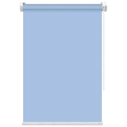 Рулонная штора FixLine Basic (голубой), 50х180 см