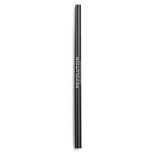 Купить REVOLUTION карандаш для бровей Precise Brow Pencil, оттенок dark brown