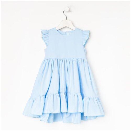 Платье Kaftan размер 98-104, голубой