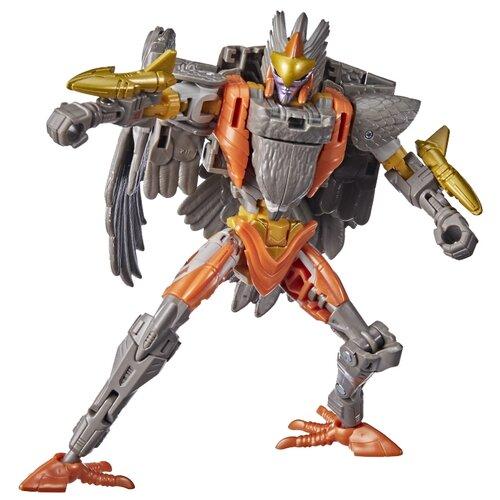 Купить Трансформер Transformers Королевство. Класс Делюкс. Эйр Рейзор (F0673) серый/оранжевый, Роботы и трансформеры