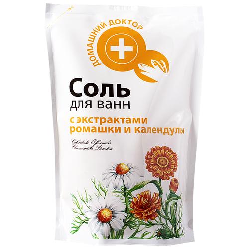 Домашний доктор Соль для ванн c экстрактами ромашки и календулы, 500 г