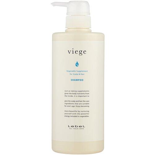 Купить Lebel Cosmetics шампунь Viege восстанавливающий для волос и кожи головы, 600 мл
