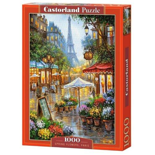 Купить Пазл Castorland Весенние цветы, Париж, 1000 элементов 103669, Пазлы