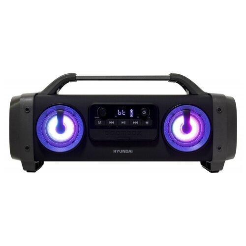 Портативная акустика Hyundai H-PCD400, черный