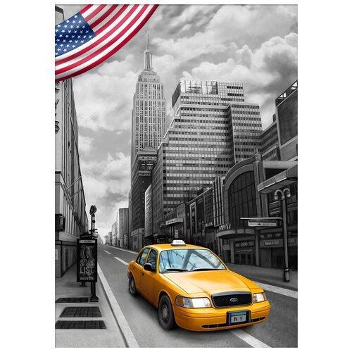 Купить Нью-Йорк Набор для выкладывания стразами Алмазная живопись АЖ-1763, Алмазная вышивка