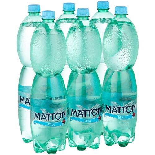 Минеральная вода Mattoni негазированная, ПЭТ, 6 шт. по 1.5 л