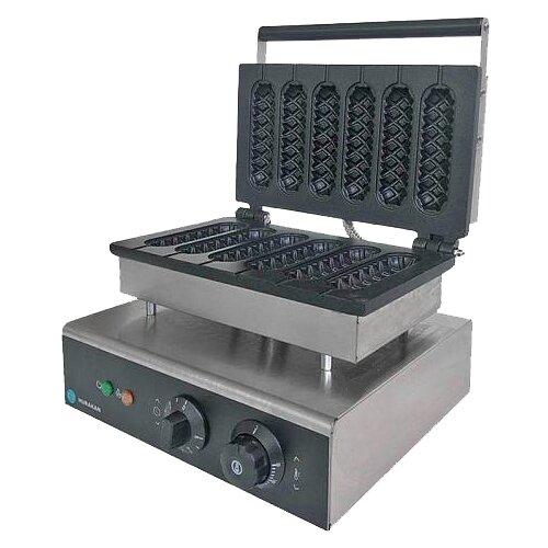 Аппарат для корн-догов Hurakan HKN-HCP6 серебристый/черный недорого