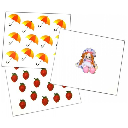 Набор карточек Вундеркинд с пелёнок Счёт 19.5x16.5 см 20 шт.