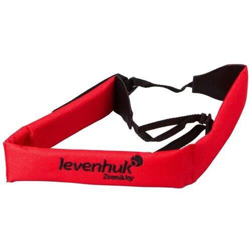 Ремень / система ремней LEVENHUK FS10 для биноклей и фототехники 71148 красный/черный
