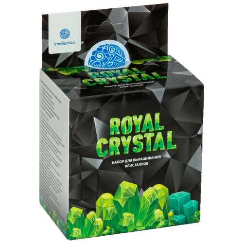 Купить Набор для опытов Intellectico Royal Crystal кристалл зеленый, Наборы для исследований