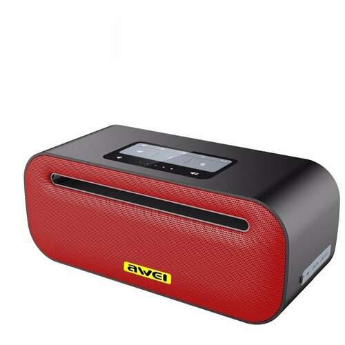 awei ak8 red black Портативная акустика Awei Y600, red