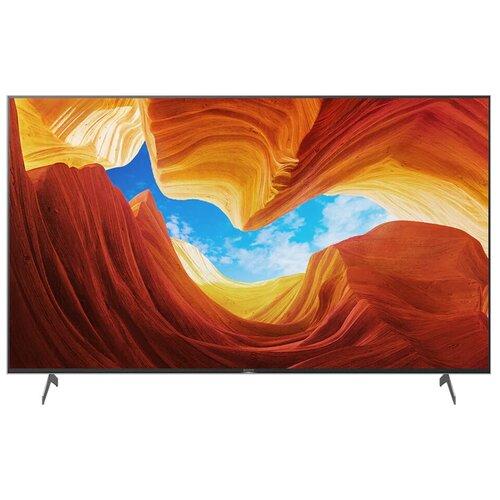 """Телевизор Sony KD-65XH9077 64.5"""" (2020) серебристый"""