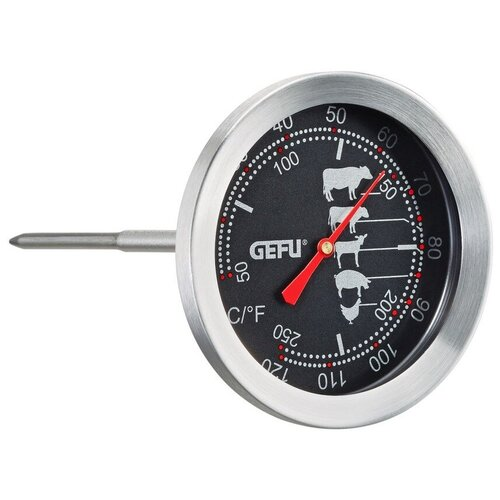 Фото - Термометр со щупом Gefu для мяса Messimo 21880 термометр для жарки электронный темпере gefu 21840