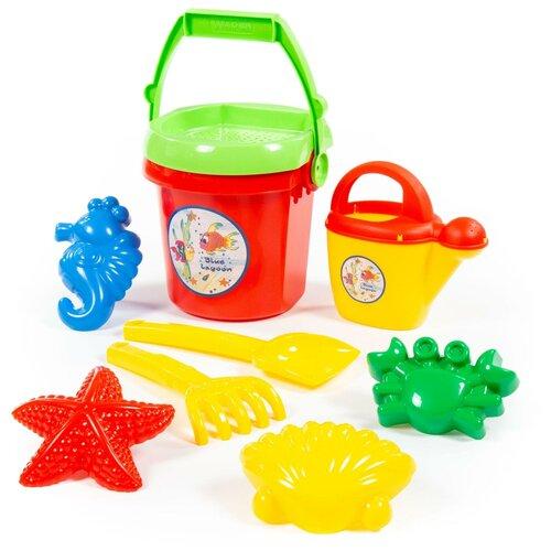 Купить Игровой набор Полесье №414 для песка, Cavallino, Наборы в песочницу