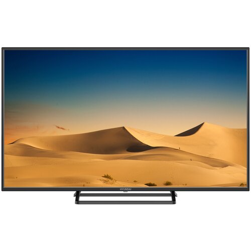 Фото - Телевизор Hyundai H-LED43FT3001 43 (2020), черный телевизор hyundai h led65eu8000 65 2019 черный металлик