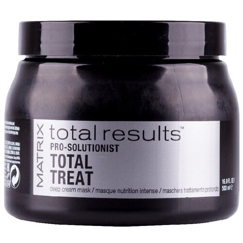 Фото - Matrix Total Results Total Treat Крем-маска для глубокого восстановления волос, 500 мл matrix лосьон total results curl please контуринг лоушн керл плиз 150 мл