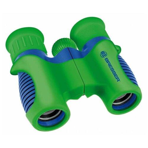 Фото - Бинокль BRESSER Junior 6x21 зеленый/синий микроскоп bresser junior biolux sel 40 1600x blue 74322