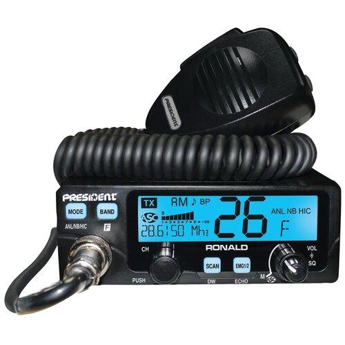 Автомобильная радиостанция PRESIDENT RONALD