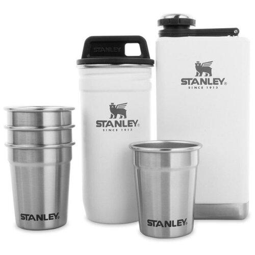 Набор стопок Stanley Adventure (10-01883-036) с белым футляром и флягой 0.23 л