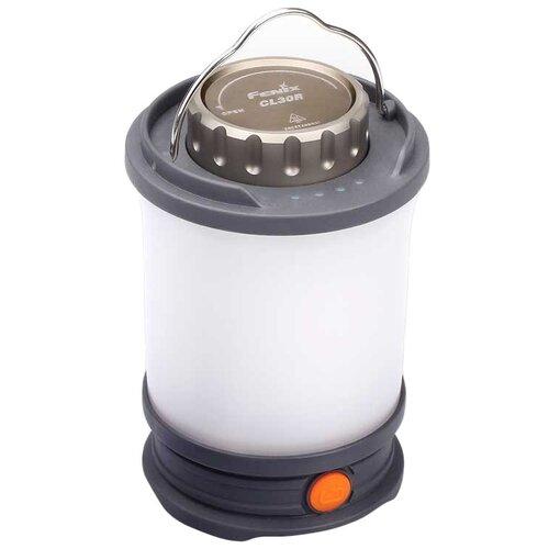 Кемпинговый фонарь Fenix CL30R серый недорого