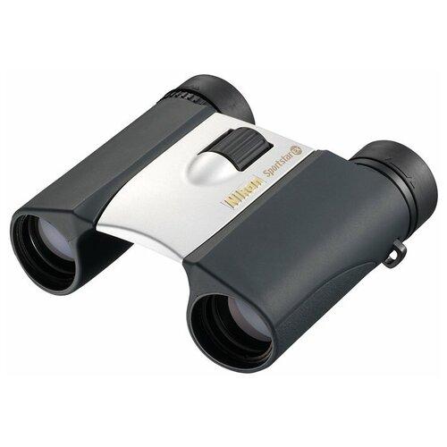 Фото - Бинокль Nikon Sportstar EX 8x25 DCF серебристый бинокль vixen foresta 8x50 dcf 14517 черный