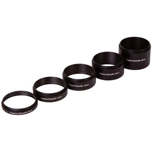 Набор удлинительных колец Explore Scientific M48x075 (30 20 15 10 5 мм)