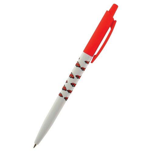 Ручка шариковая автоматическая happyclick. красные автомобили 20-0241/18 3 штуки, Bruno Visconti, Ручки  - купить со скидкой