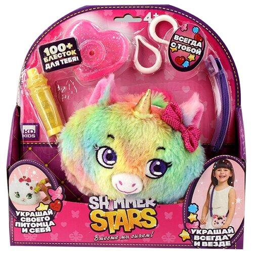 Игрушка-сумка Shimmer Stars Разноцветный единорог, 12 см