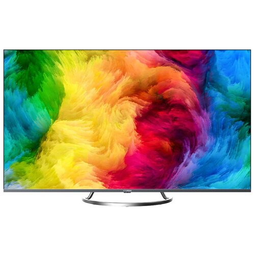 Фото - Телевизор Hyundai H-LED50EU8000 50 (2019), черный/металлик телевизор philips 50pus6654 50 2019 серебристый металлик