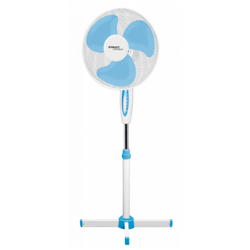 Напольный вентилятор Scarlett SC-SF111B03/04 (SC-SF111B04), белый