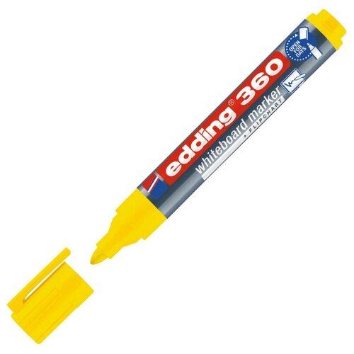 Купить Маркер для досок EDDING 360/5 желтый 1, 5-3 мм 2 штуки, Маркеры