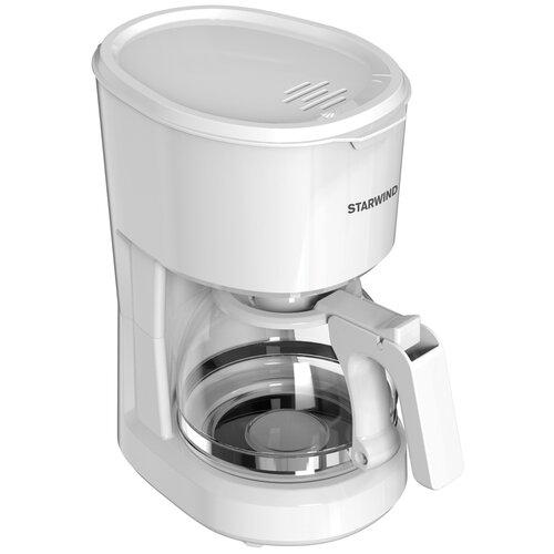 Кофеварка STARWIND STD0611 белый