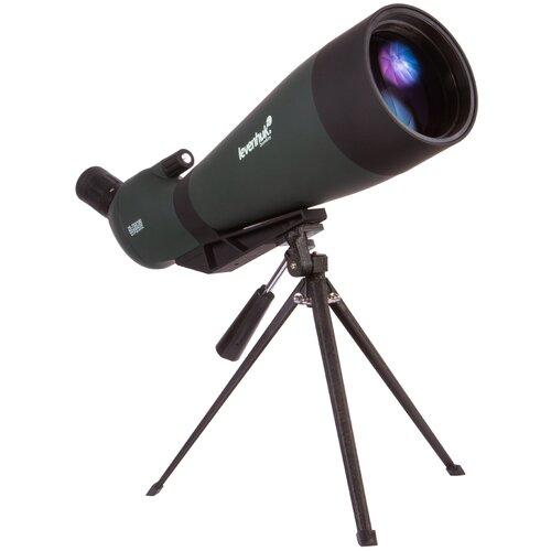 Фото - Зрительная труба LEVENHUK Blaze BASE 100 зеленый/черный зрительная труба veber snipe super 20 60x80 gr zoom зеленый черный