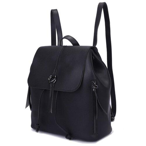 Сумка-торба OrsOro, искусственная кожа, черный