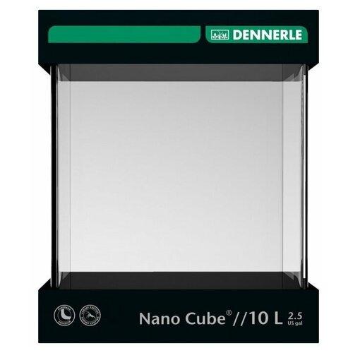 Dennerle Аквариум DENNERLE NANOCUBE 10 литров аквариум dennerle nanocube 20 литров 1 шт