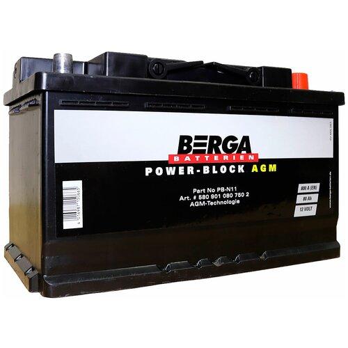 Автомобильный аккумулятор Berga PB-N11