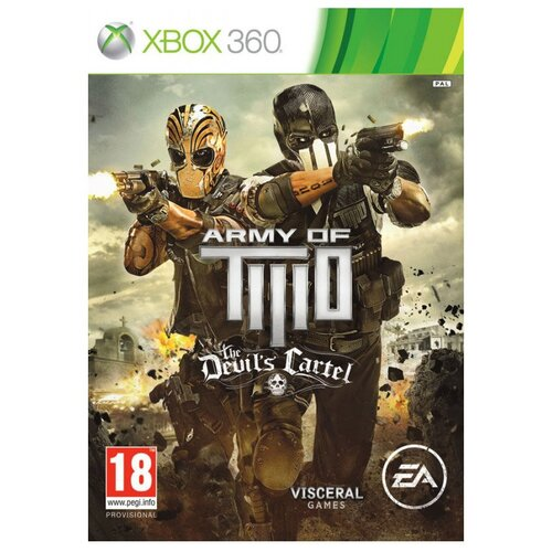 Игра для Xbox 360 Army of Two: The Devil's Cartel, английский язык