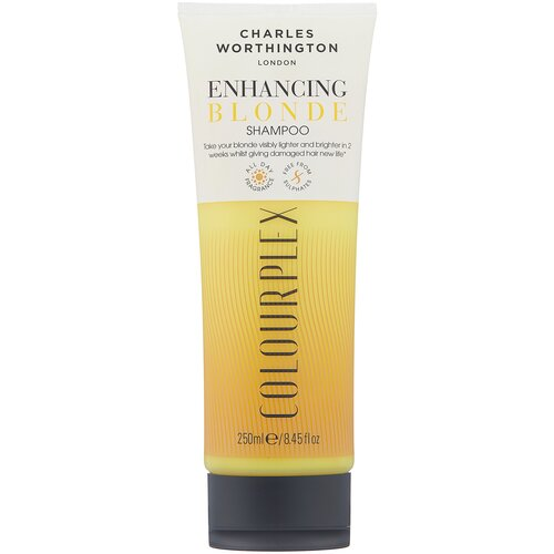 charles worthington colourplex toning blue shampoo Charles Worthington шампунь ColourPlex Enhancing Blonde, 250 мл