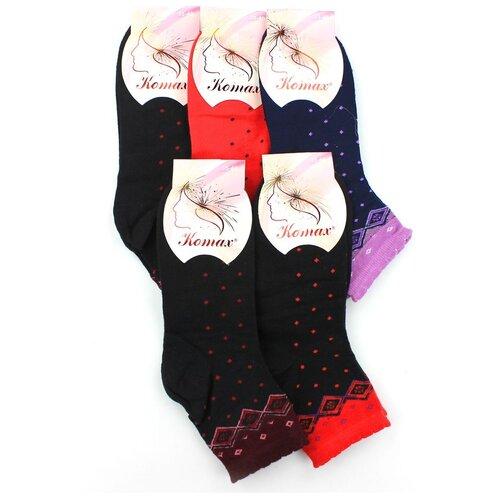 Женские носки Komax W606-5 бамбук р 35-40 6 пар