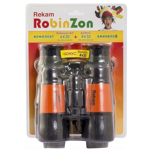 Фото - Бинокль Rekam Robinzon Kit 6x30 4x30 черный rekam vest 10 xl черный