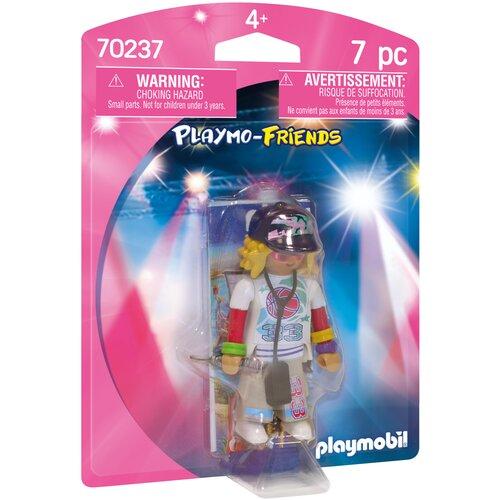 Набор с элементами конструктора Playmobil Playmo-Friends 70237 Рэпер