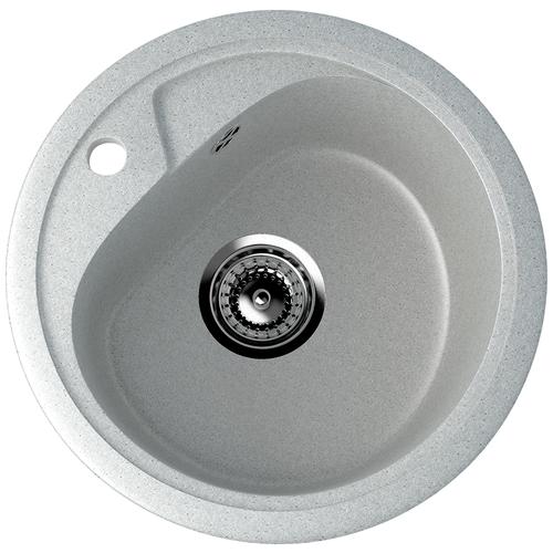 Фото - Врезная кухонная мойка 44 см EcoStone ES-10 310 серый врезная кухонная мойка 103 см ecostone es 29 308 черный