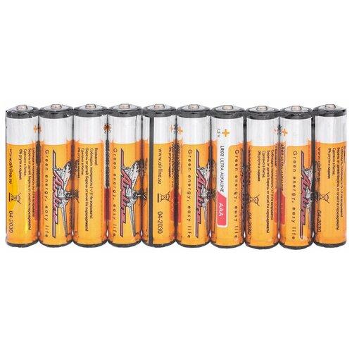 Батарейки LR03/AAA щелочные 10 шт.
