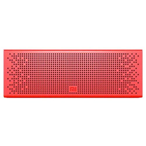 Портативная акустика Xiaomi Mi Bluetooth Speaker, красный недорого