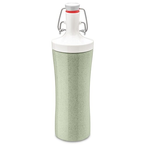 Фото - Бутылка для воды Koziol Plopp to go Organic 0.42 пластик зеленый бутылка для воды koziol plopp to go organic 0 42 пластик синий
