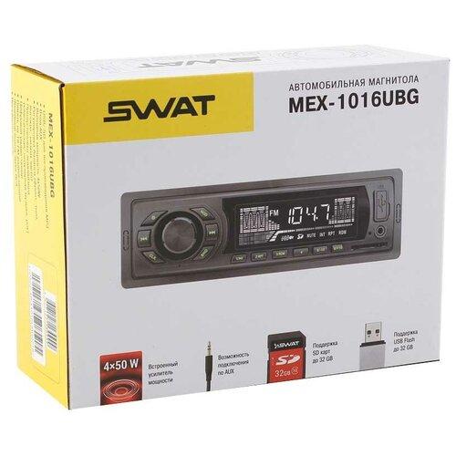 SWAT Автомагнитола SWAT MEX-1016UBG недорого